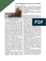 Tres Fuentes y Tres Partes Integrantes Del Marxismo