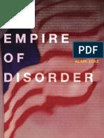 Alain Joxe, Sylvère Lotringer - Empire of Disorder    2002