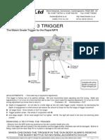 Match Grade Trigger MFR