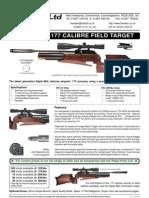 Rapid Field Target Specs