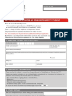 ICAEW Application for ACCAs