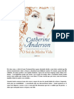 Catherine Anderson - O Sol Da Minha Vida (Livro 06)