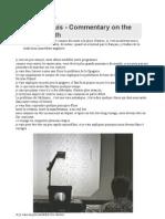 Jean Dubuis - Commentary on the Flamel Path - Commentaire Sur La Voie de Flamel (Transcript FR)