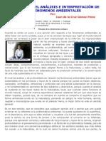 ENFOQUE PARA EL ANÁLISIS E INTERPRETACIÓN DE LOS FENÓMENOS AMBIENTALES