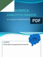 Quimica Unidad i Conceptos Basicos
