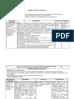 Planificación de trayecto Ciencias 12-04-12