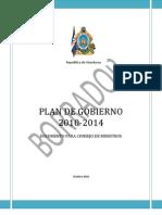 Plan de Gobierno 2010-2014-Borrador
