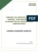 Manual Para Eliminacion de Residuos de Laboratorio