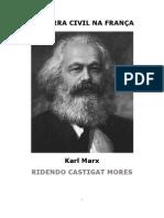 Karl Marx a Guerra Civil Na França