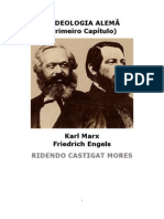 Karl Marx a Ideologia Alemã