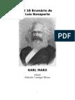 Karl Marx Brumário de Bonaparte