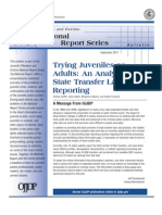 GRIFFIN ET AL Trying Juveniles as Adults an Analysis of State Transfer Laws and Reporting