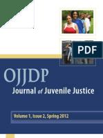 OJJDP 2012 Journal of Juvenile Justice