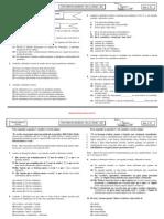 Prova Magisterio Exercito Matematica 2011