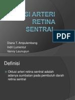 Oklusi Arteri Retina Sentral