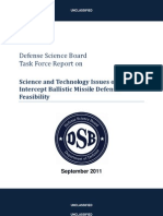 Intercept Ballistic Missle Defense Feasibility