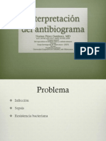 Interpretación del antibiograma
