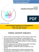 Travails of Cement Travel