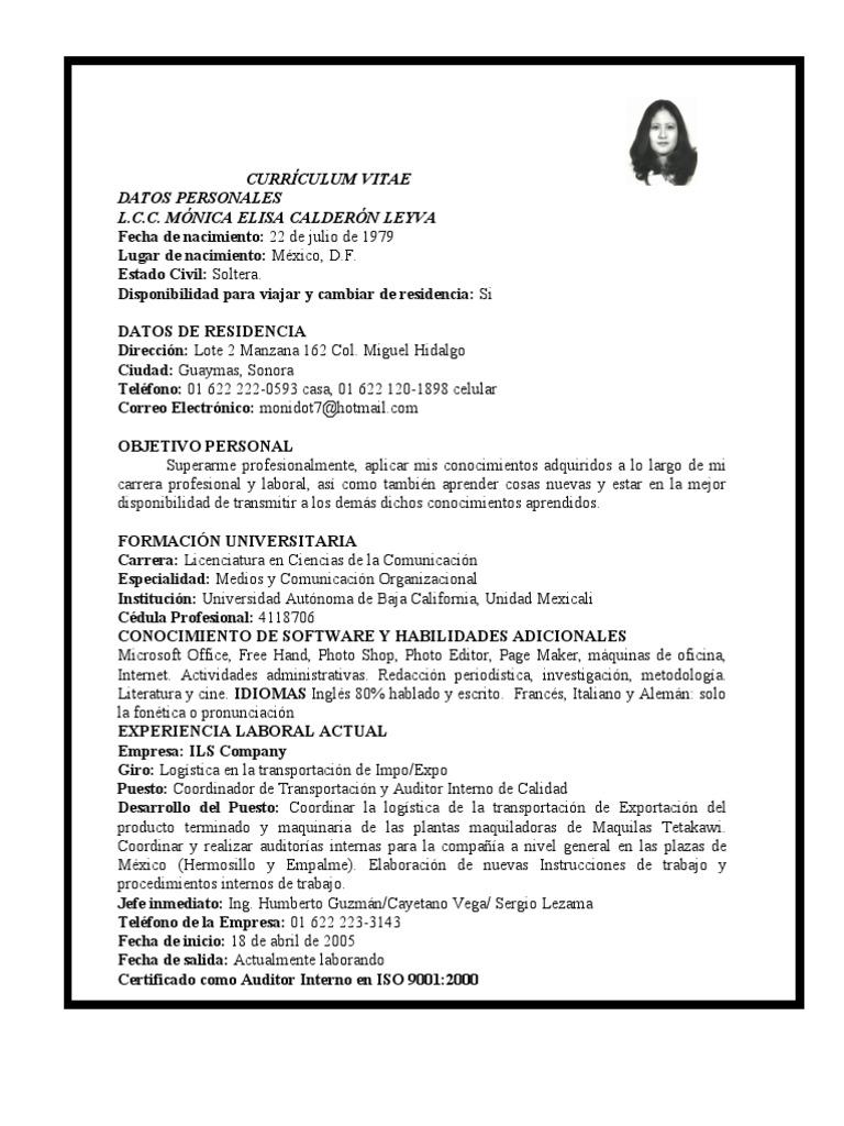 Asombroso Currículum De Muestra Para Cambio De Carrera A Asistente ...