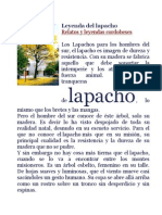Leyenda Del Lapacho