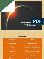 PENSAMIENTO COMPLEJO Posgrado 2012