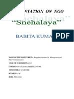 Babita Ngo Report