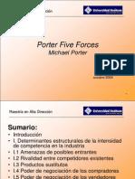 Diagrama de Las 5 Fuerzas de Porter