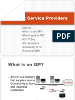 Internet Service Providers Final