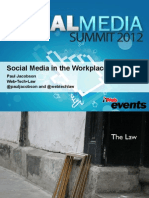 Social Media in the Workplace Workshop