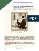 Allama Iqbal Spiritual Dimensions & Mystical Experiences _Part 1_ & _Part 1