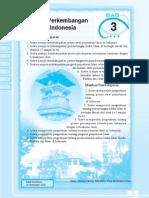 3. Proses Pekembangan Islam Di Indonesia