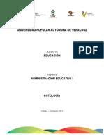 0 Antología Administración Educativa I Completa