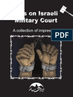 Eyes on Israeli Military Court- Impressions