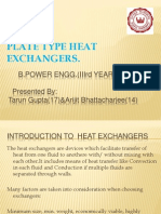 Plate Type Heat Exchangers