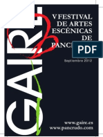Programa Gaire 2012