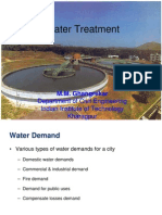 Water Treatment 25-01-2012