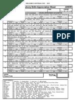 2 Junior Technical Drill Appreciation Sheets