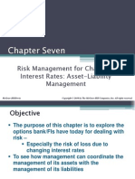 Risk Management for Changing Interest Rates Asset-Liability Management