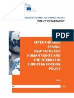 After the Arab Spring - New Paths for Human Rights and the Internet in European Foreign Policy
