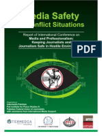 Media Safety in Conflict Situations