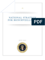 US National Strategy for Biosurveillance