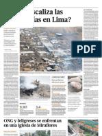 Quien fiscaliza las chancherías en Lima