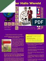 Kalender Hallo Wereld 2012 Voor Kinderboekenweek 2012 Van Goochelaar Aarnoud Agricola
