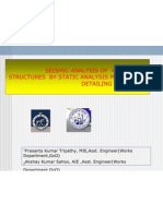 Seismic Analysis of Rcc Framed Structures by Static (1)