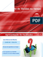 Treinamento de Vendas Ao Varejo CLARO (Promotores Novos)