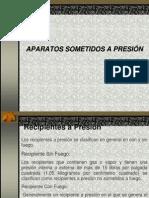 APARATOS SOMETIDOS A PRESIÓN-Estación de Servicios Catriel