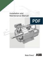 Motor Installation and Maintenance Manual