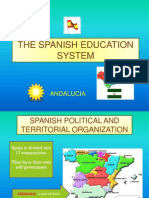 The Spanish Education System (Comenius)