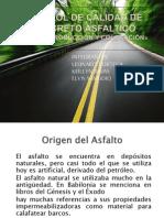 CONTROL DE CALIDAD DE CONCRETO ÁSFALTICO