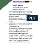 Tutorial Instalando Joomla No Windows [Update 26.08]
